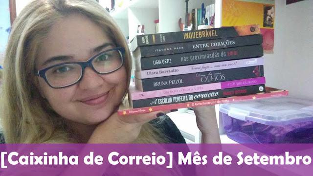 [Book Haul] Setembro - 2015