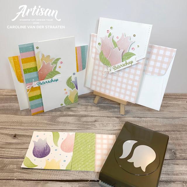 Cartes rapides réalisées avec les papiers Design Joyeuses Perforatrices