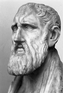 Buste of zeno of citum