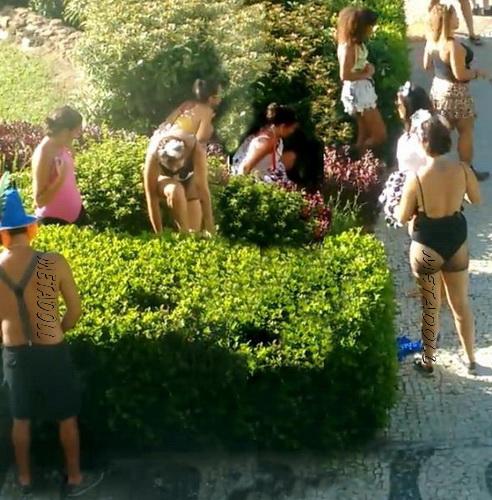 Brazilian girls peeing