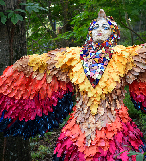 Scarecrows in the Garden | Atlanta Botanical Garden | Photo: Travis S. Taylor