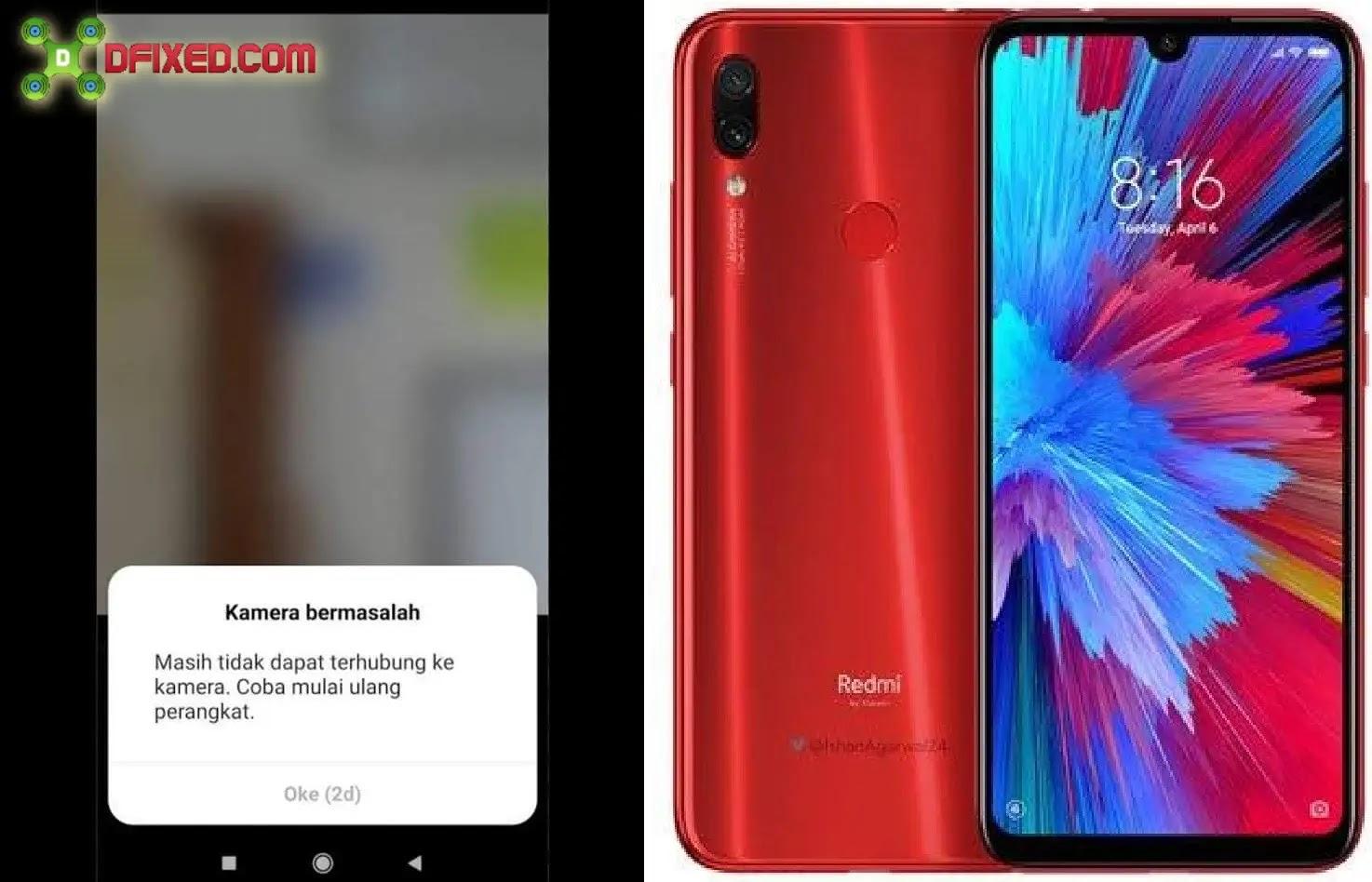 5 Cara Memperbaiki Kamera Bermasalah Xiaomi Redmi Note 7