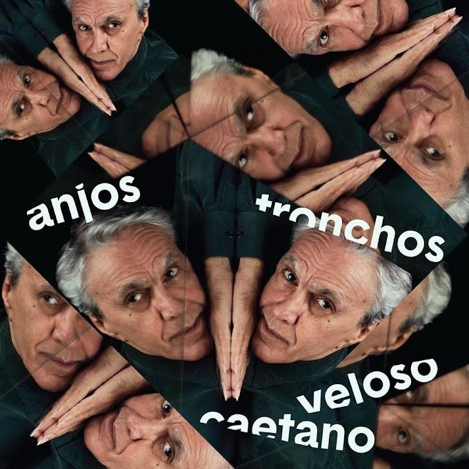 Caetano Veloso revela a capa de 'Anjos tronchos', single com 'canção extremamente densa'