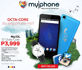 MyPhone My32L Announced, 5-inch HD Octa Core for Php3,999