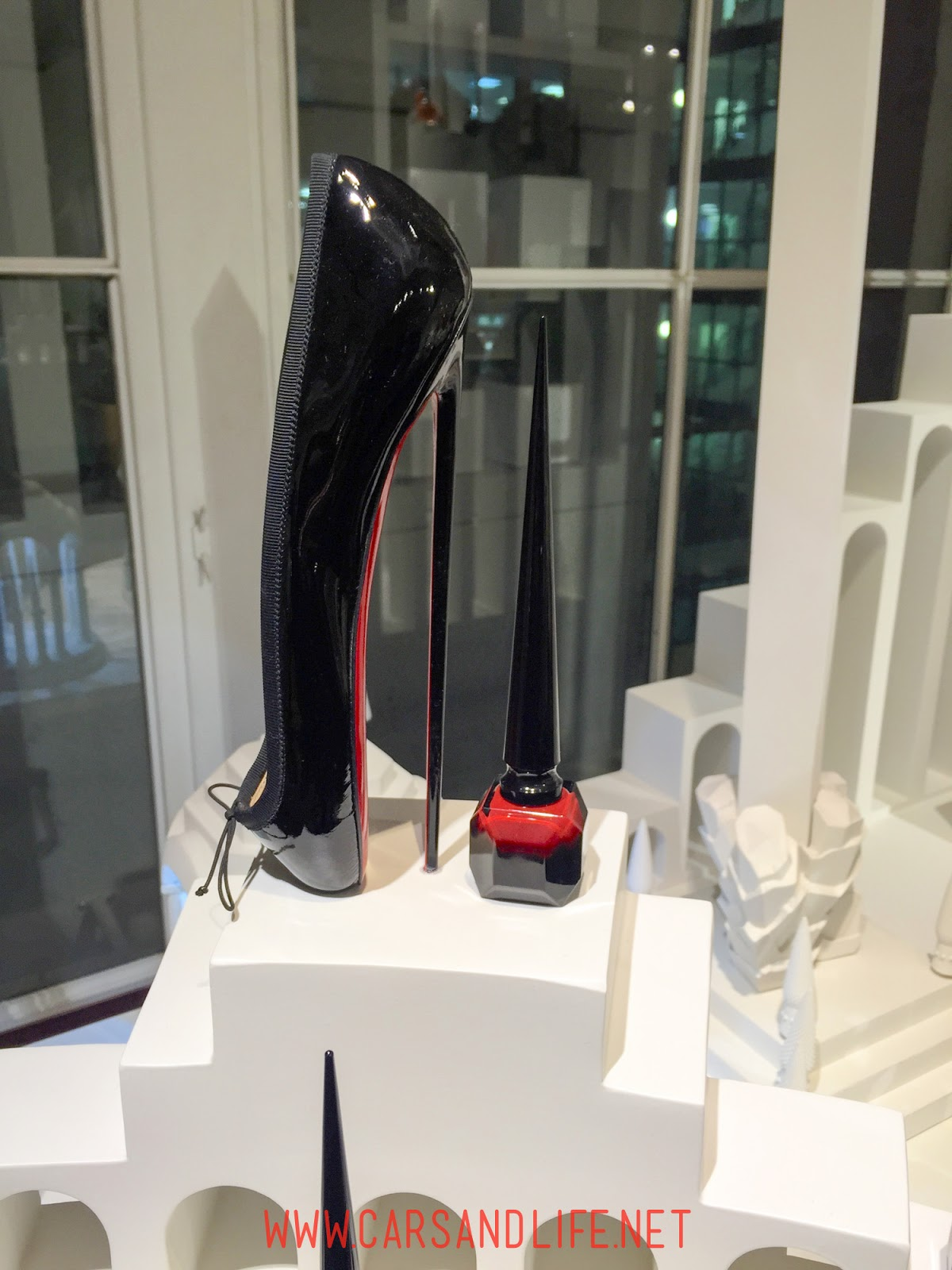 Christian Louboutin 8 Inch Ballet Heels From Selfridges London