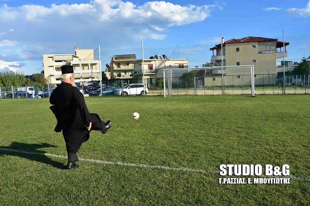 12ος παίκτης στον Αργοναύτη Νέας Κίου ο παπά-Δήμος