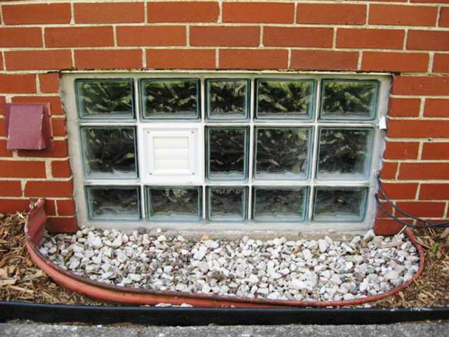 How to Install GLASS Block Basement WINDOWS