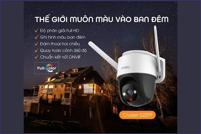 Hướng dẫn cài đặt và sử dụng Camera IPC-S22FP-IMOU trên điện thoại di động sản phẩm vừa ra mắt 2021