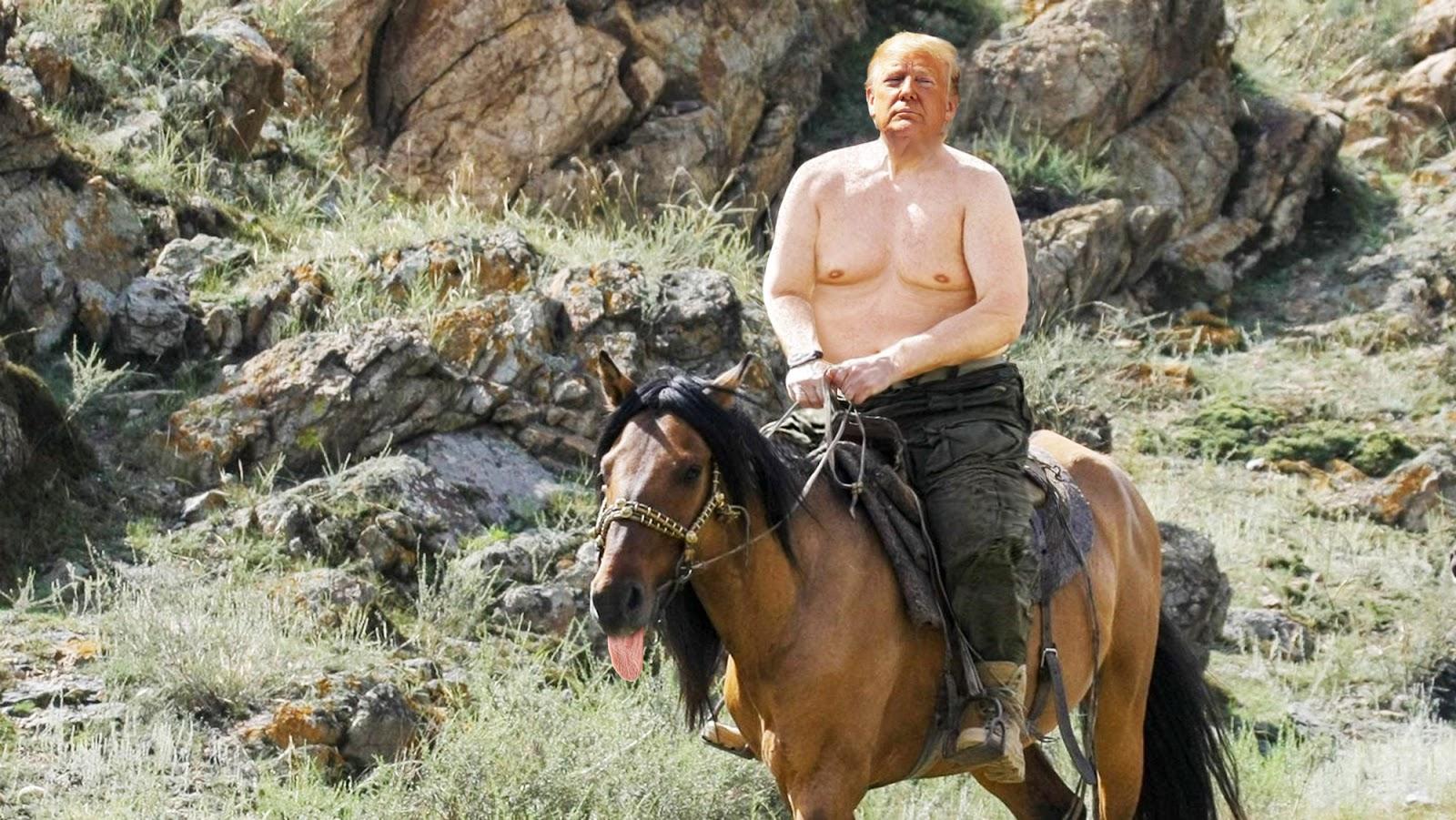 Pferd nackt reiten auf Können Mädchen
