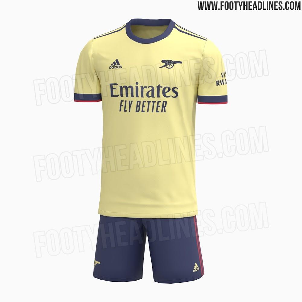 Arsenal 21-22 Away Kit Released - Footy Headlines