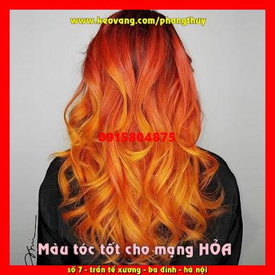 Người mạng Hỏa nên nhuộm tóc màu gì rước tài lộc công danh về nhà?