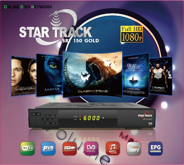 Star Track SRT 150 Gold HD Receiver Software 2019