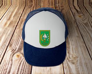 desain topi lambang logo provinsi riau - kanalmu