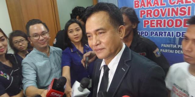 Yusril: Kabar Prabowo Pilih Sjafrie Masih Belum Final