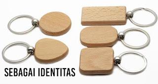 Sebagai Identitas merupakan salah satu manfaat gantungan kunci