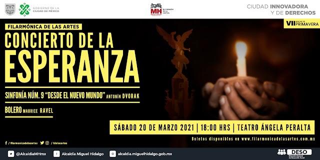 El Concierto de la Esperanza, un homenaje a las víctimas de COVID en México.