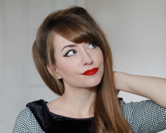 Nyx Liquid Suede Cream Lipstick in Kitten Heels review