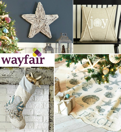 Coastal Christmas Decor at Wayfair