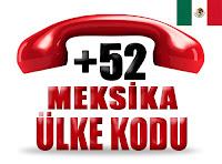 +52 Meksika ülke telefon kodu