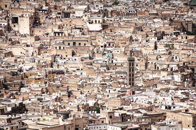 المدينة القديمة مراكش