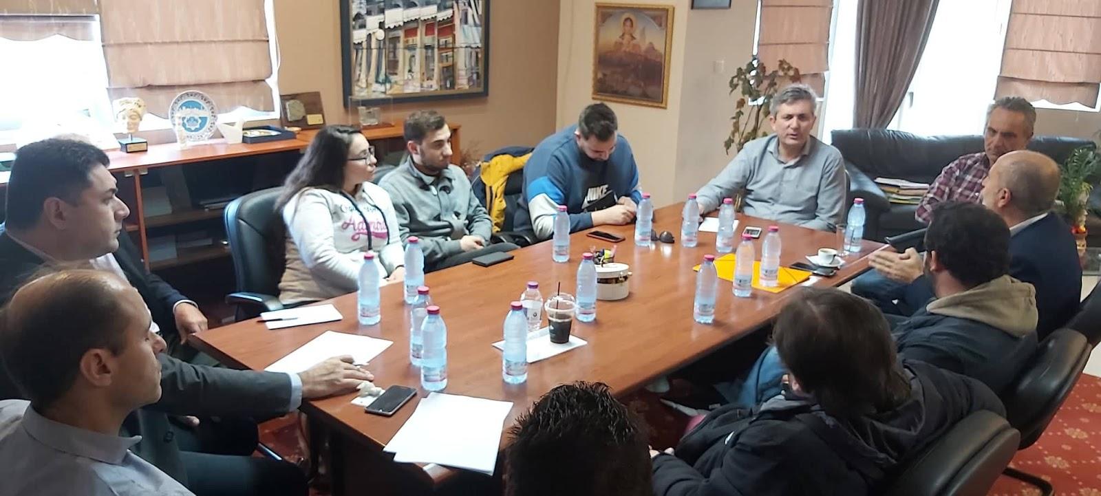 Συνάντηση στο Δημαρχείο Άρτας για θέματα φοιτητικής μέριμνας