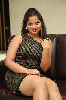 Actress Sirisha  Pictures in Shorts Dress at Follow Follow U Trailer Launch  0047.JPG