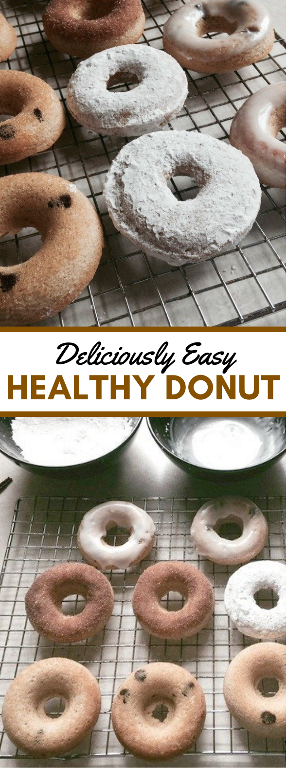 DELICIOUSLY EASY HEALTHY DONUT RECIPE #lowcalorie #diet