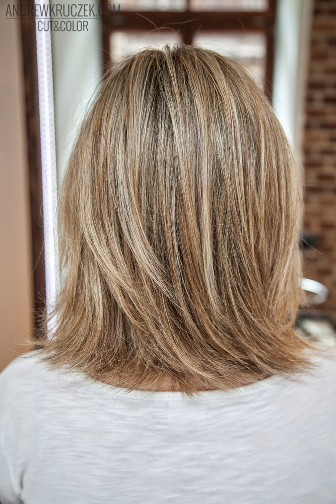 Andrzej Kruczek Cut And Color Blonde Baleyage At Khcsalon