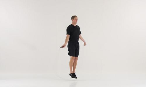 Skipping Rope Untuk Menurunkan Berat Badan Dua Kaki