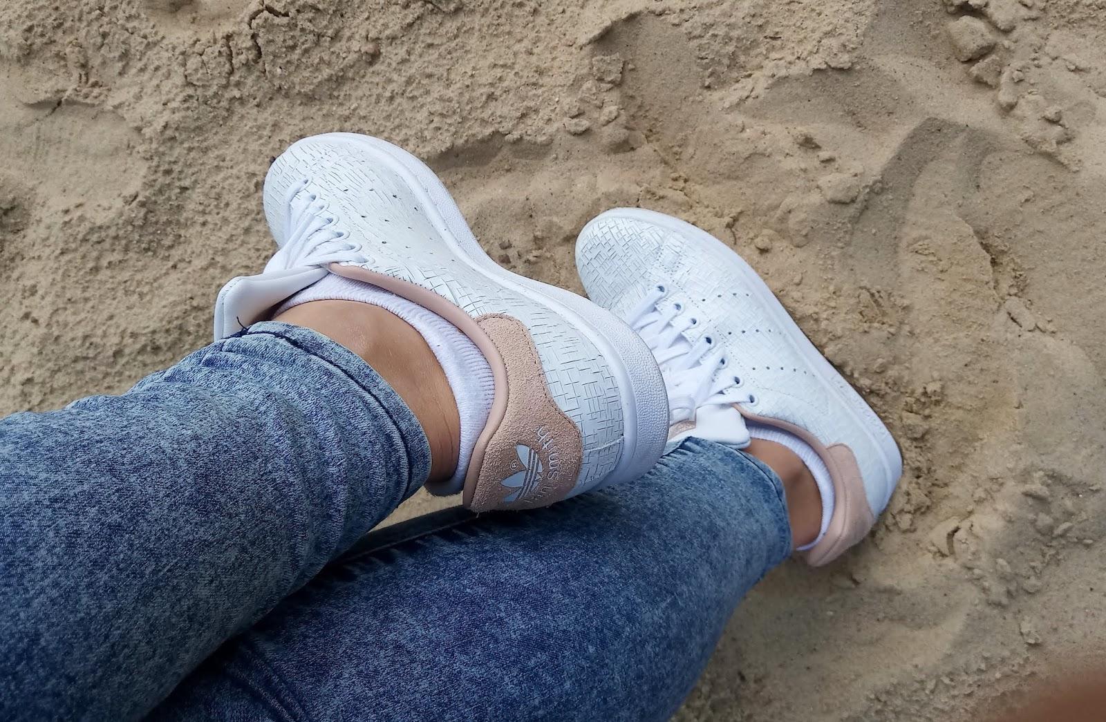białe trampki adidas stan smith