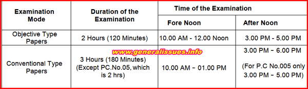 appsc-departmental-tests-time-table