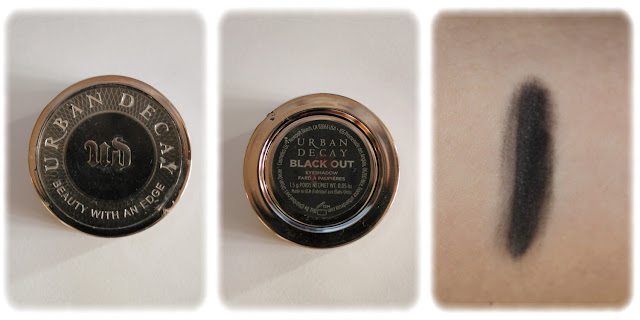 Swatch Fard à Paupières Teinte Black Out - Urban Decay