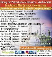 SAUDI JOBS : REQUIRED FOR A PETROCHEMICAL INDUSTRY IN SAUDI .g