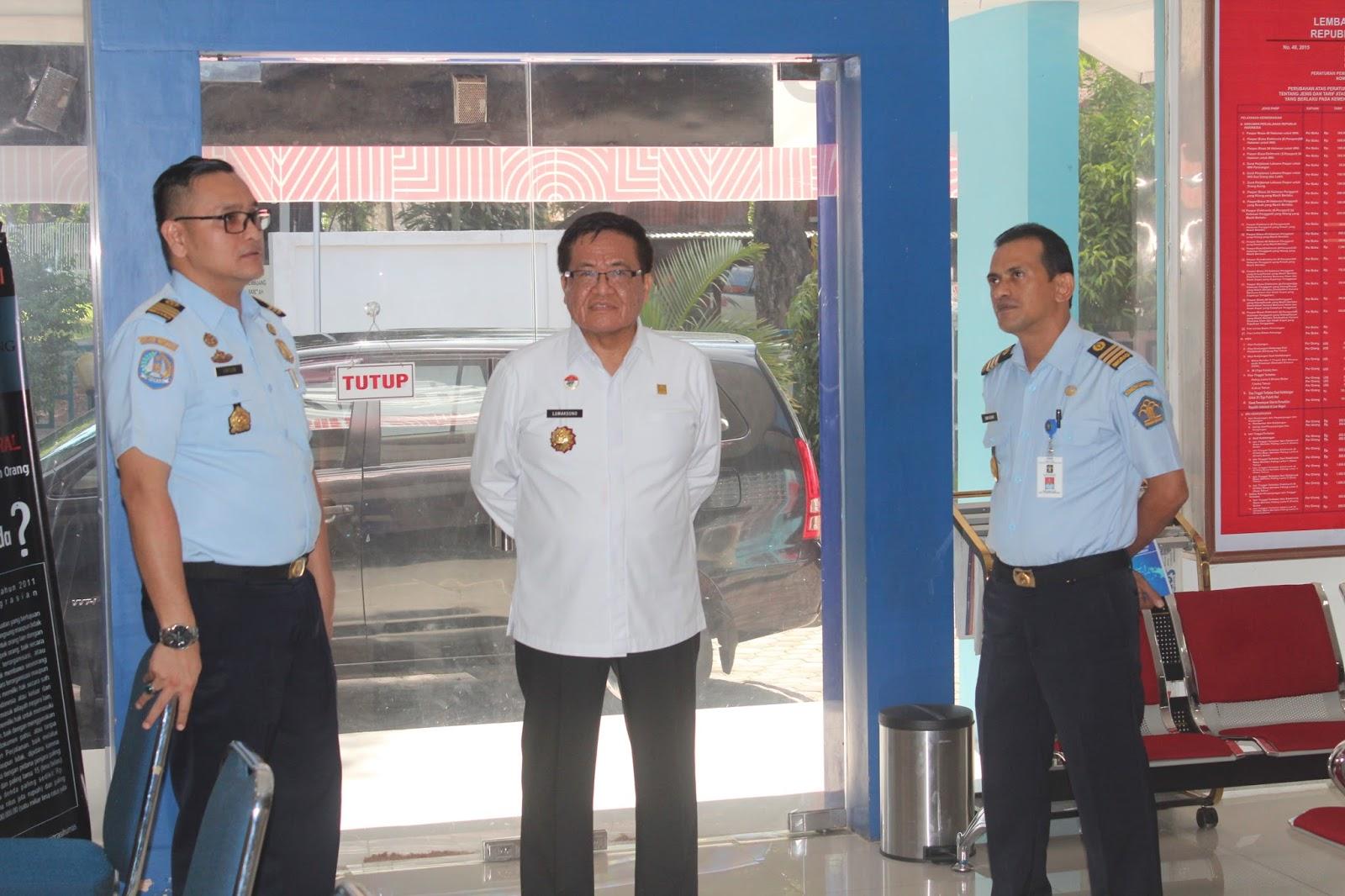 Kunjungan Kepala Divisi Keimigrasian Kanwil Kemenkumham Aceh
