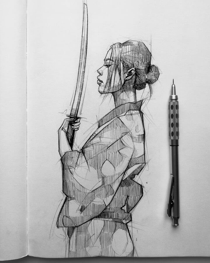 06-The-warrior-Ani-Cinski-www-designstack-co