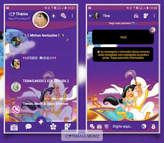Aladin Theme For YOWhatsApp & Fouad WhatsApp By Thania