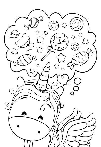 Dibujos De Unicornios Para Colorear Imágenes Y Dibujos