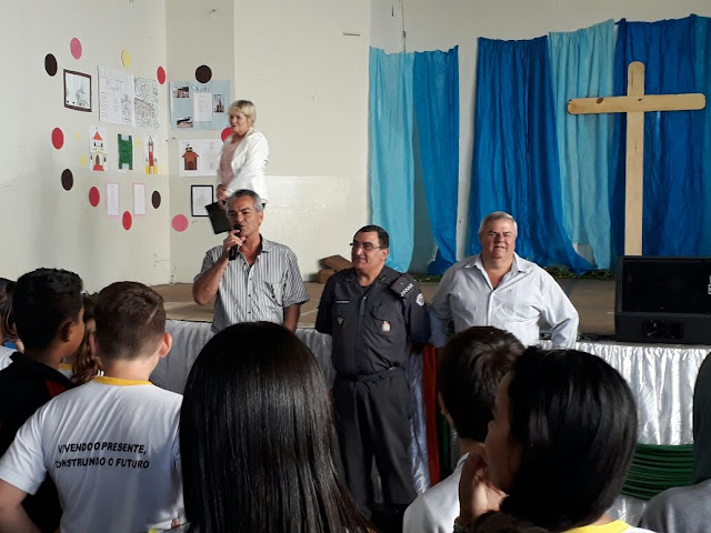 Banda da PM de Ribeirão Preto homenageia Cajobi