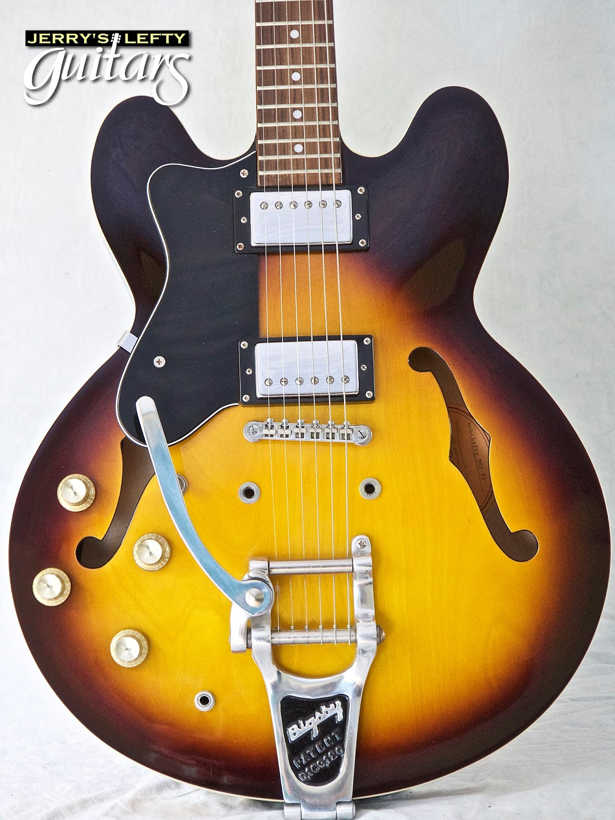 Jerry's Lefty Guitars newest guitar arrivals  Updated weekly