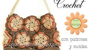 Bolsa de 12 grannys para tejer al crochet / Patrones y moldes