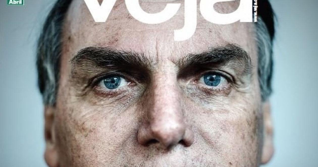 Agarrar Elevado Consulta  Revista Veja da próxima semana traz Bolsonaro na capa como ameaça - O  CHEFÃO DA NOTÍCIA