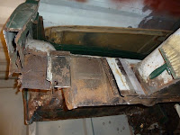 1965 MG Midget Restoration Project - Rear Bulkhead Repair 04