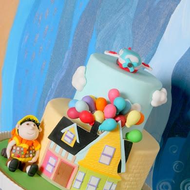 Up Movie Inspired Balloon Birthday Party Ideas