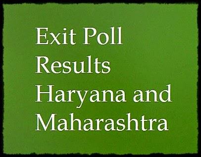Haryana, Maharashtra, Exit Poll, Results