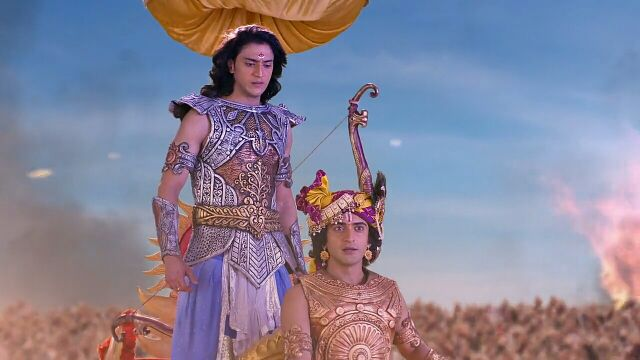 Radha Krishn: Krishna - Arjun Gatha S3 E35 16th October Episode9