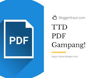 Cara membuat tanda tangan digital di PDF dengan mudah