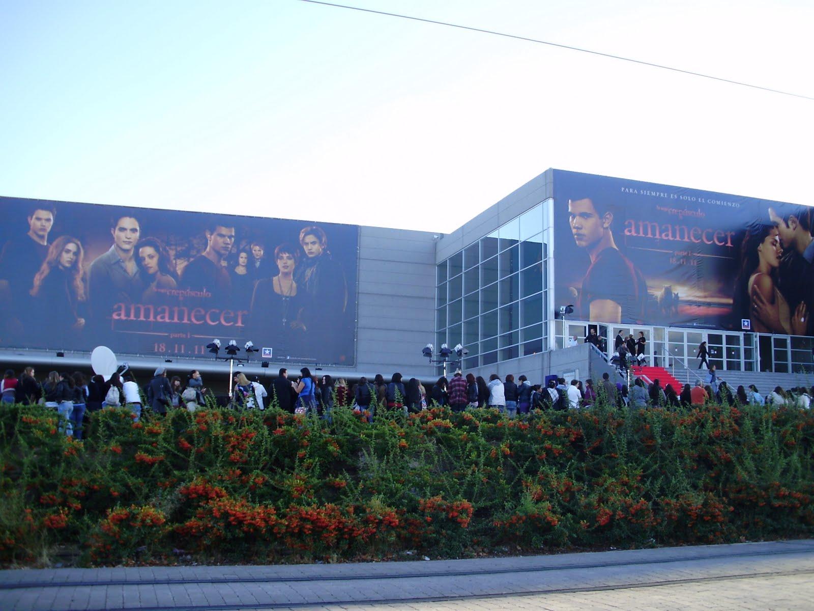 Making of tarde vamp rica en kin polis evento fan de for Sala 25 kinepolis madrid