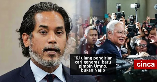 KJ ulang pendirian cari generasi baru pimpin Umno, bukan Najib