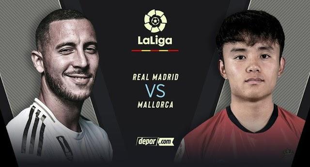 Real Madrid vs. Mallorca EN VIVO: juegan LaLiga Santander 2020 en el Alfredo Di Stéfano