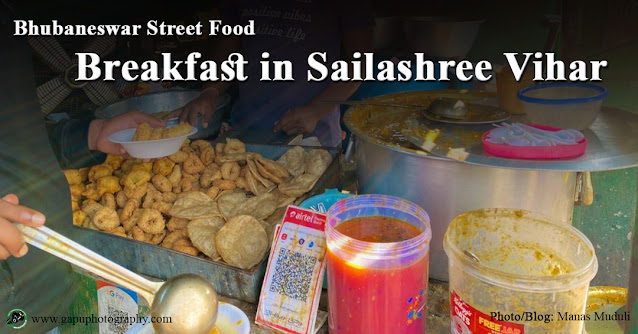 Bhubaneswar Street Food - Breakfast in Sailashree Vihar